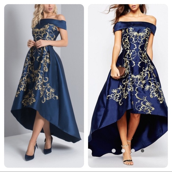 54c77748e88 NWT! Chi Chi London High Low Dress formal prom